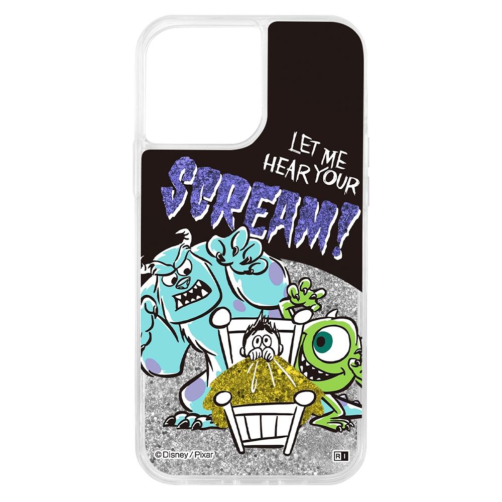 『ディズニー・ピクサーキャラクター』/ラメ グリッターケース/サリーとマイク【受注生産】