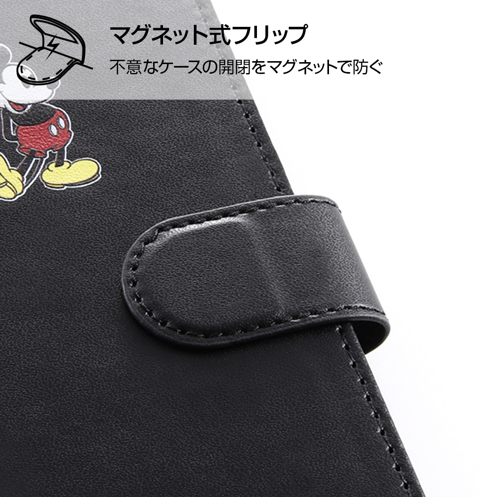 『ディズニーキャラクター』/手帳型アートケース マグネット/ミニーマウス_016