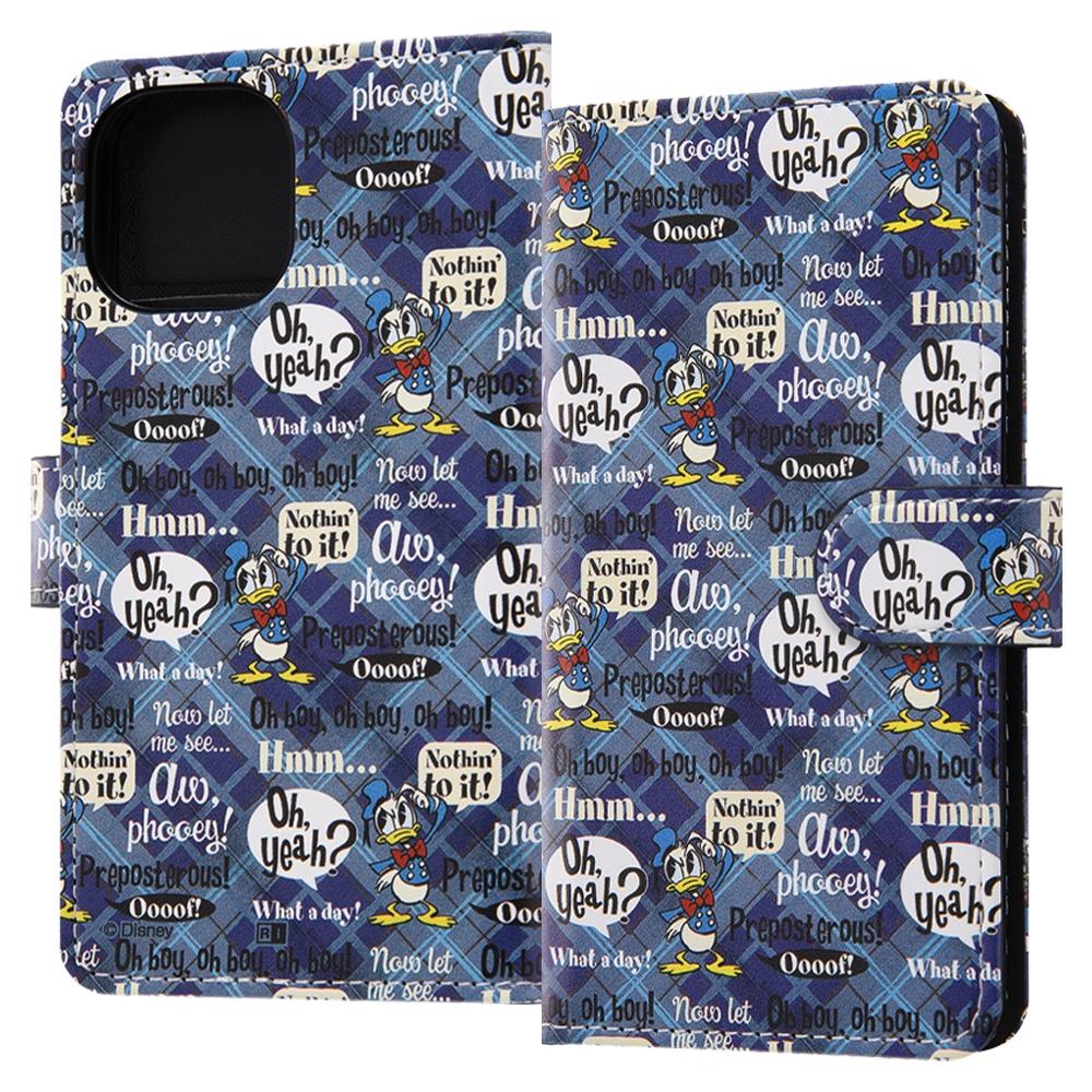 『ディズニーキャラクター』/手帳型アートケース マグネット/ドナルド_001