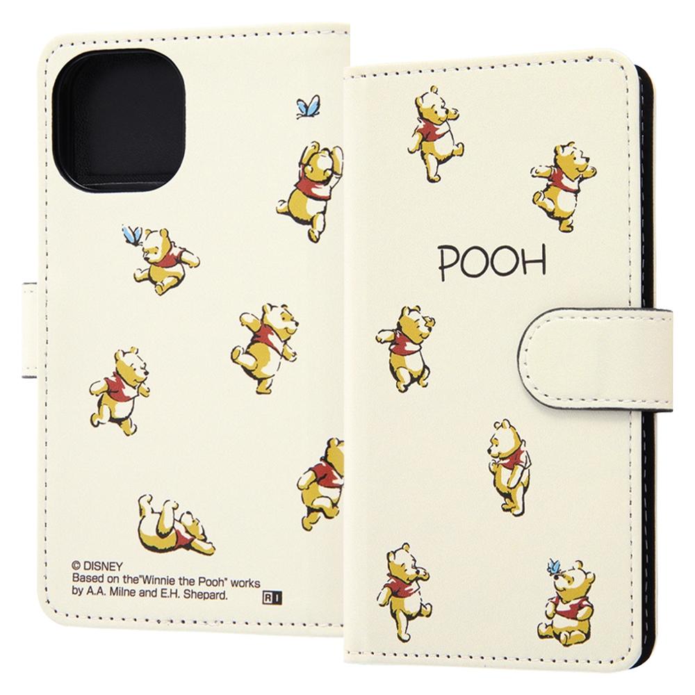 『ディズニーキャラクター』/手帳型アートケース マグネット/くまのプーさん_018