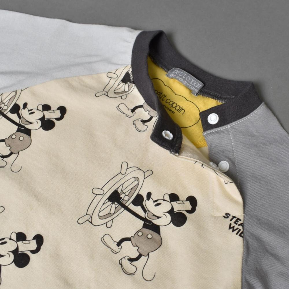 蒸気船ウィリー/ミッキーマウス/パジャマセット(petit copain BY PONEYCOMB)