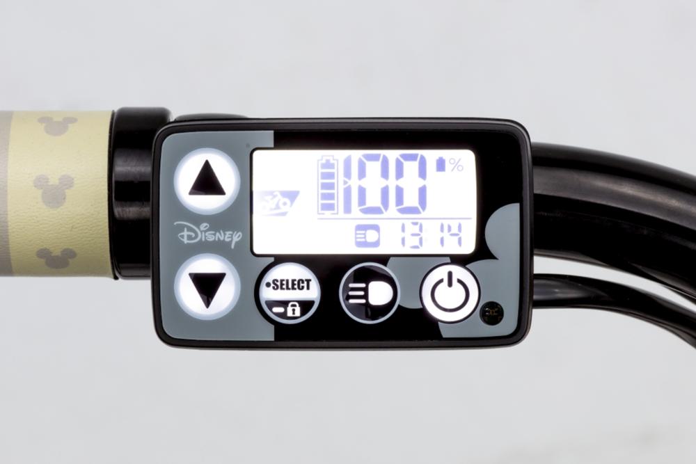 【ヤマハ電動アシスト自転車】PAS Crew Disney edition(パス・クルー・ディズニーエディション)・ミッキーマウス・デザイン・子供乗せ・幼児二人同乗基準適合車・24インチ【数量限定特典付き】