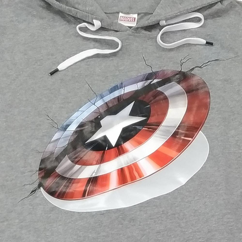 キャプテンアメリカ 半袖パーカー+ハーフパンツ