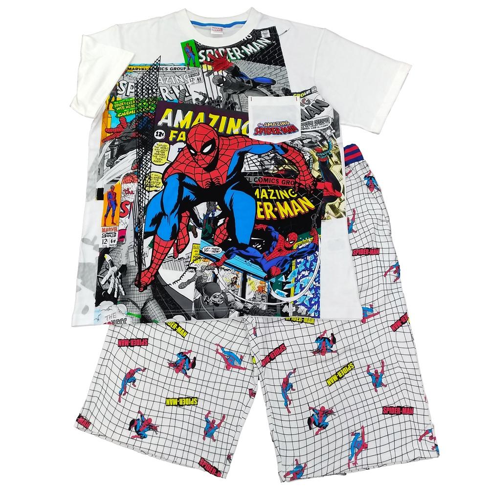 スパイダーマン Tシャツ+ハーフパンツ