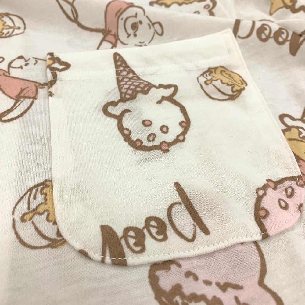プー 長袖シャツパジャマ