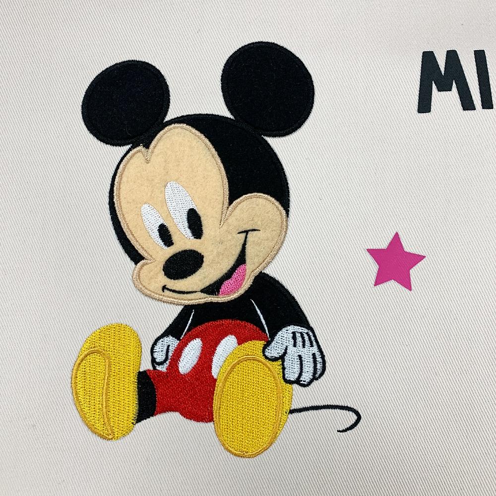 ミッキー&プルート ラン型エプロン