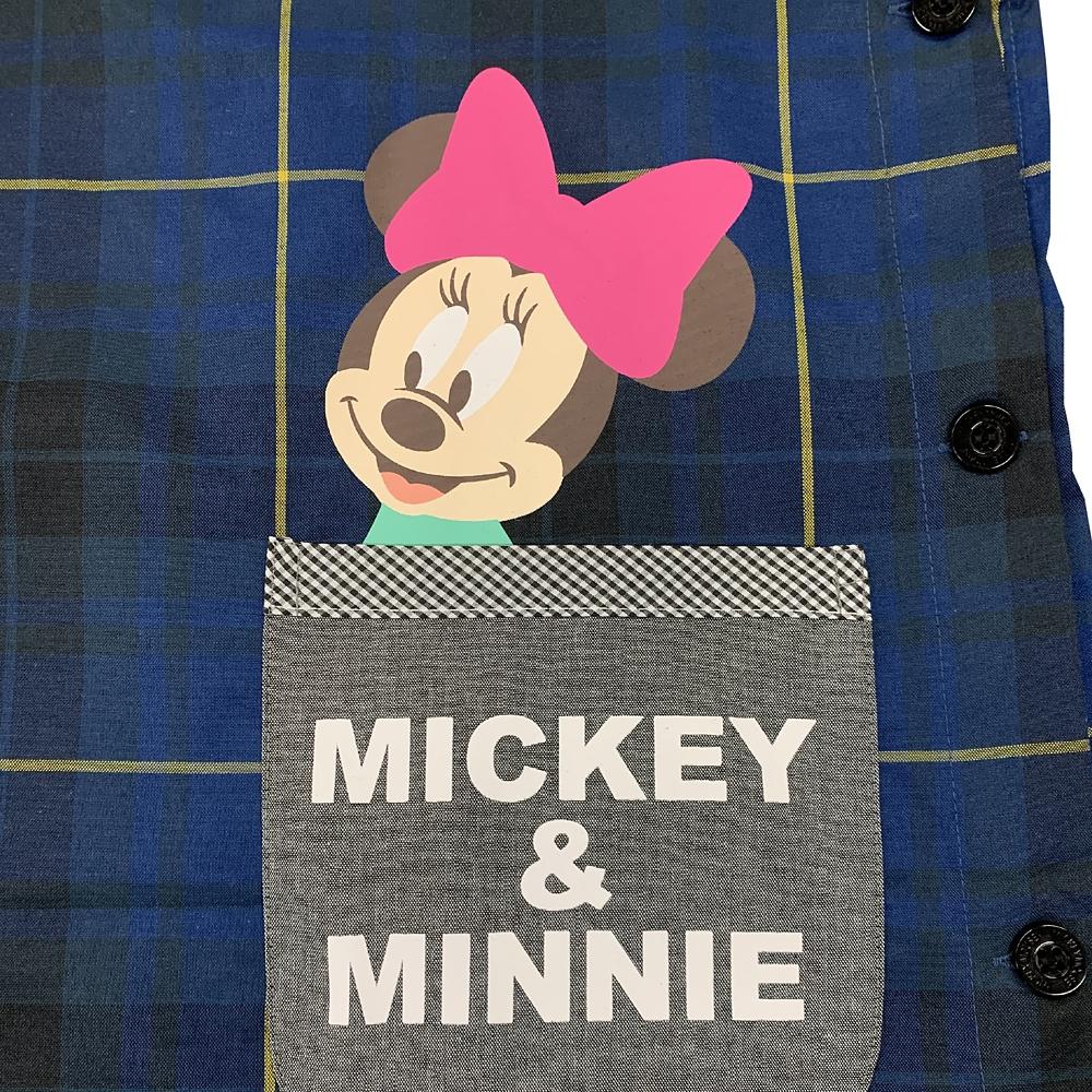 ミッキー&ミニー ラン型エプロン