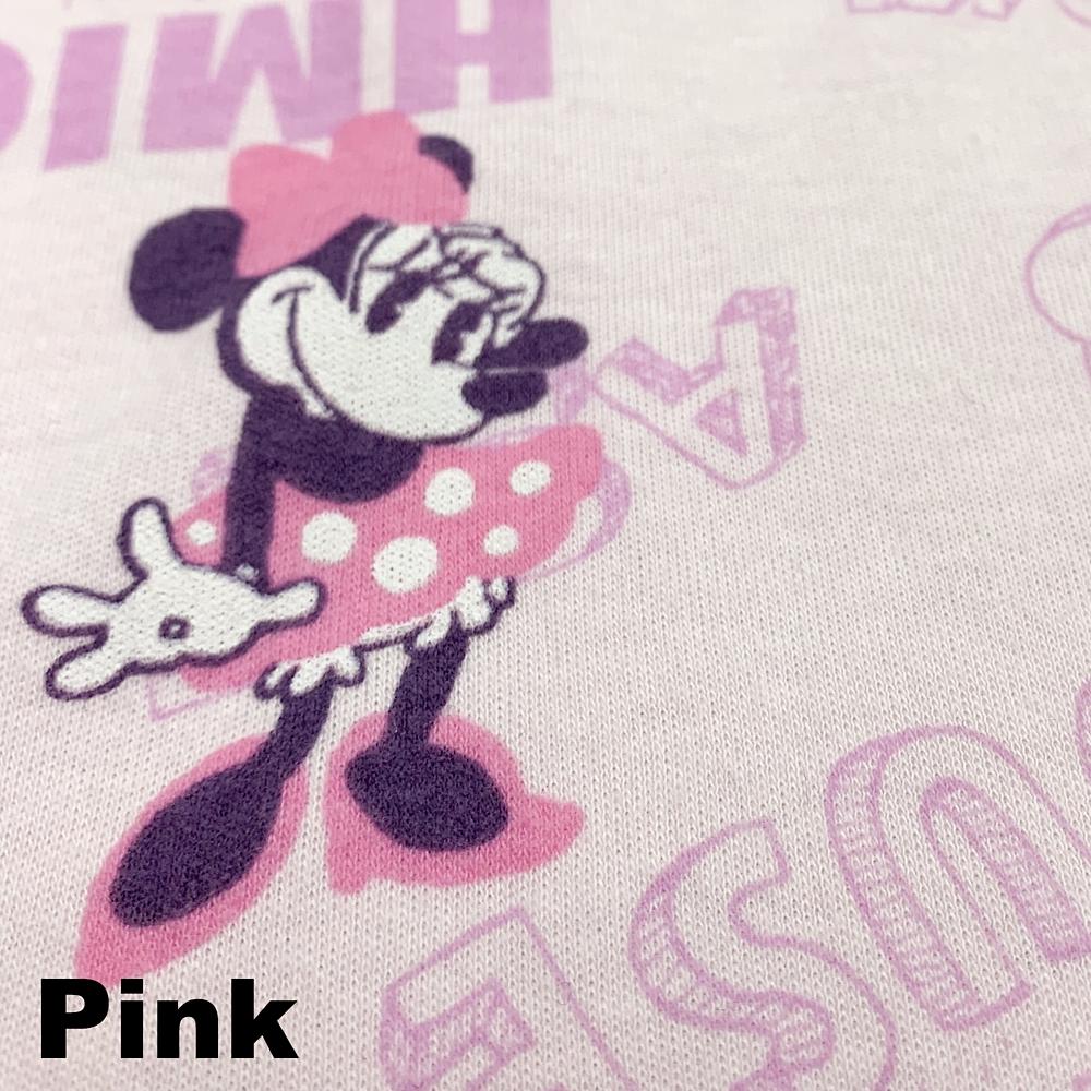 ミニー 総柄スムースニットシャツパジャマ