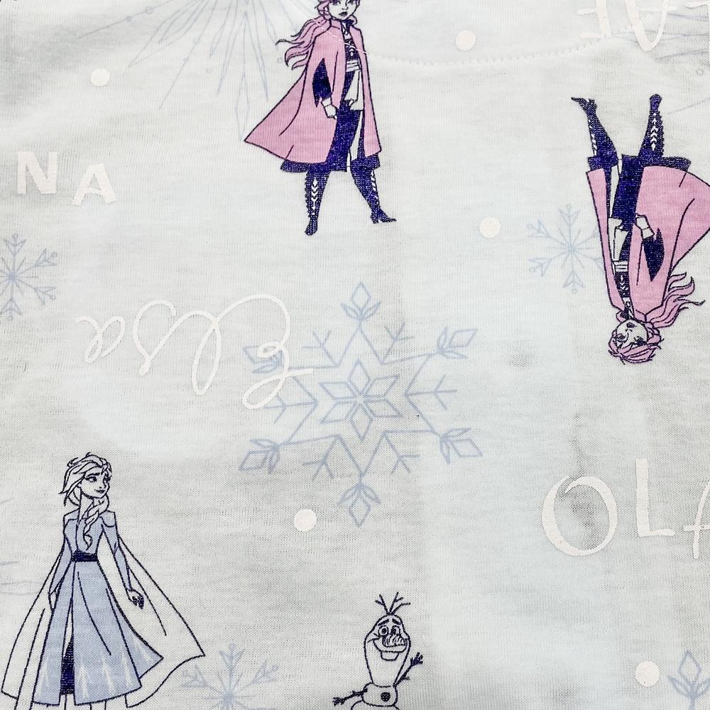 アナ雪2 キッズ用天竺半袖シャツパジャマ