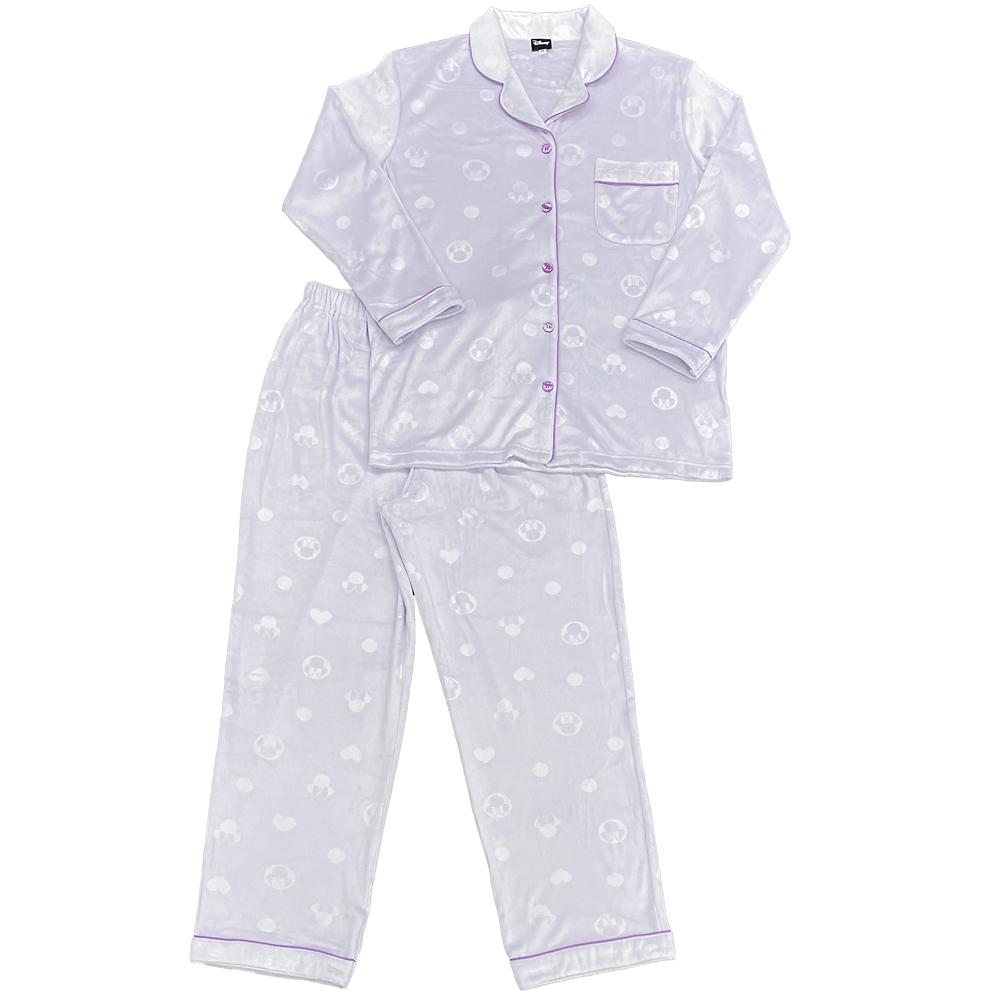 ミニー エンボスベロアシャツパジャマ