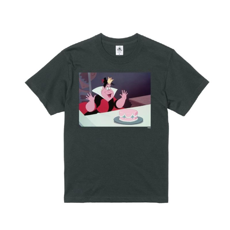 【D-Made】Tシャツ メンズ  ふしぎの国のアリス ハートの女王 ヴィランズ
