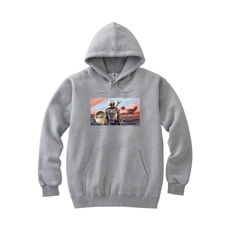 【D-Made】パーカー メンズ 『マンダロリアン』集合