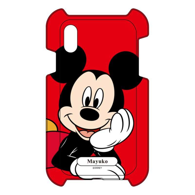【D-Made】iPhone専用 オーダーメイド スマートフォンカバー ミッキー