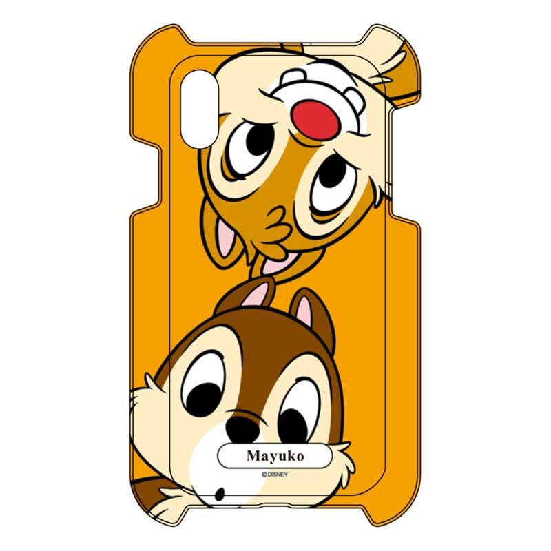 【D-Made】iPhone専用 オーダーメイド スマートフォンカバー チップ&デール