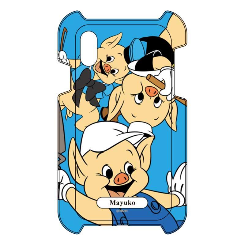 【D-Made】iPhone専用 オーダーメイド スマートフォンカバー 三匹のこぶた