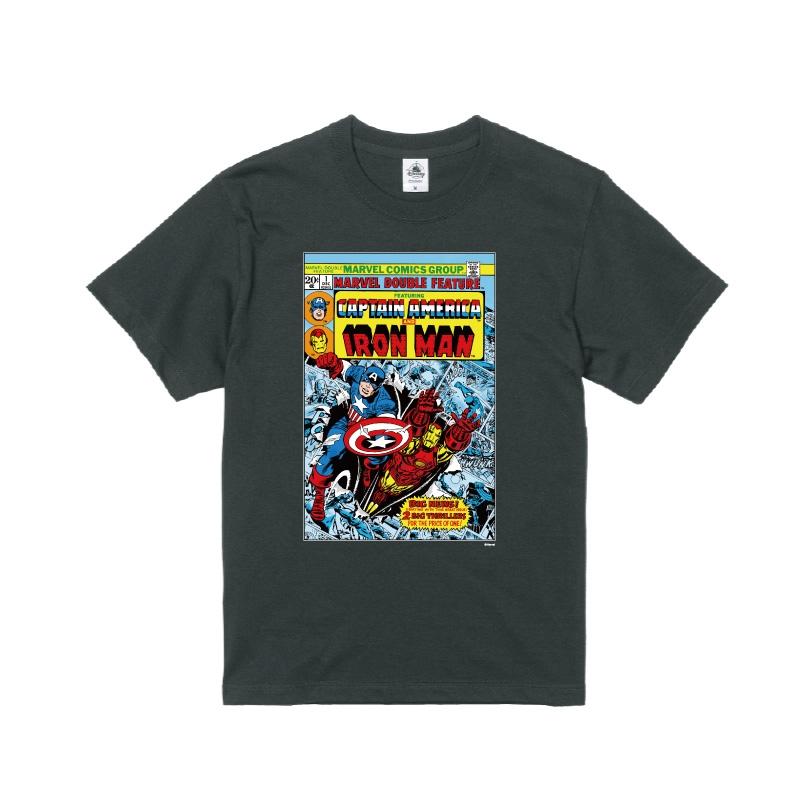 【D-Made】Tシャツ MARVEL コミック キャプテン・アメリカ アイアンマン