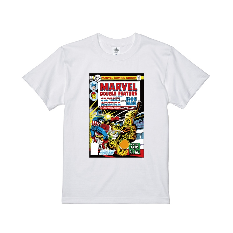 【D-Made】Tシャツ MARVEL コミック キャプテン・アメリカ アイアンマン