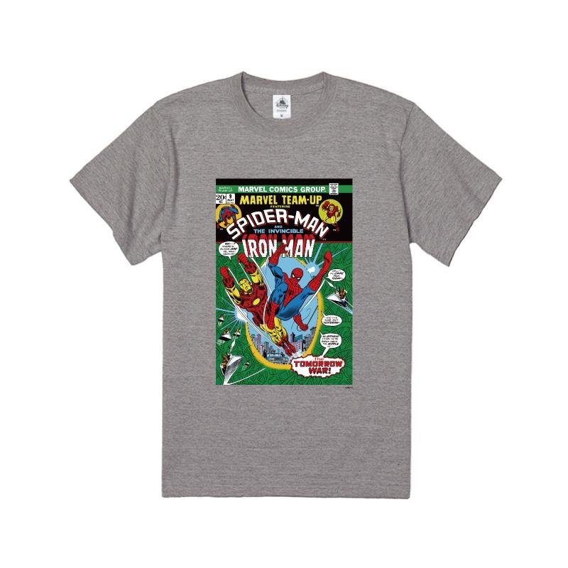 【D-Made】Tシャツ キッズ  MARVEL コミック スパイダーマン アイアンマン