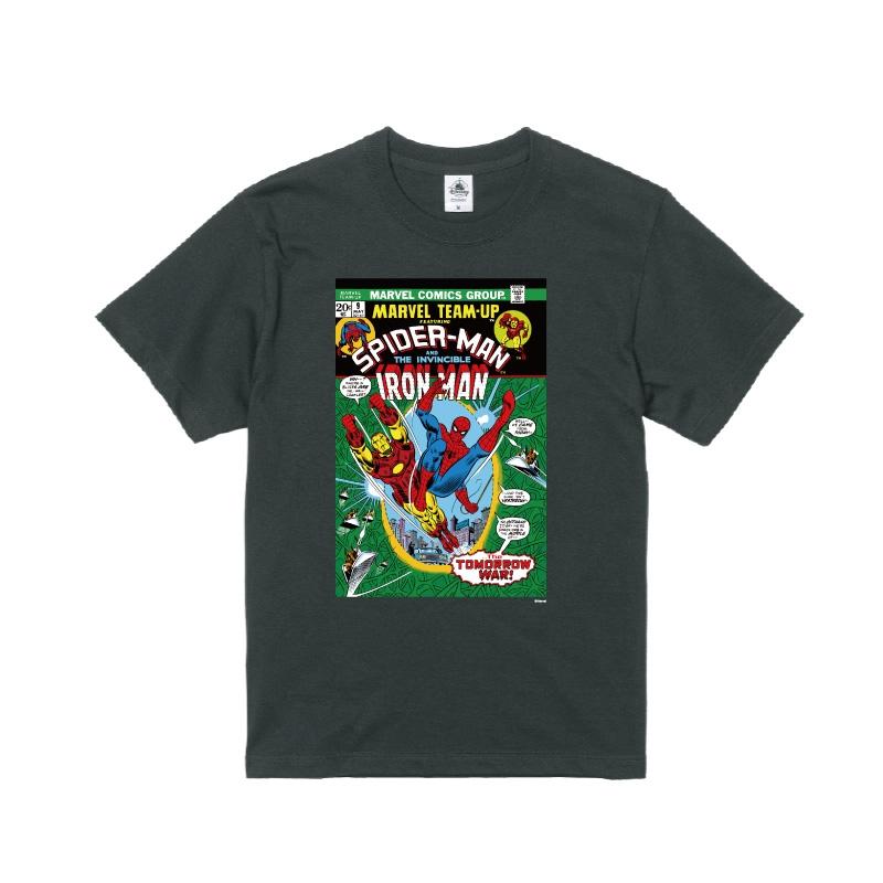 【D-Made】Tシャツ MARVEL コミック スパイダーマン アイアンマン