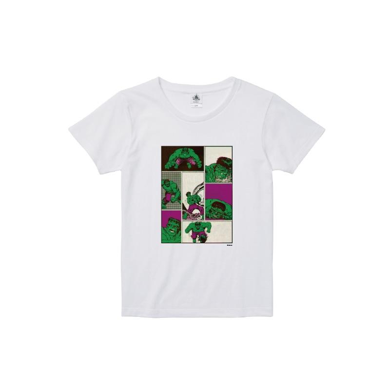 【D-Made】Tシャツ レディース  MARVEL コミック ハルク