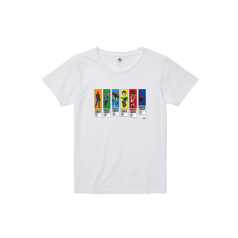 【D-Made】Tシャツ レディース  MARVEL コミック アベンジャーズ