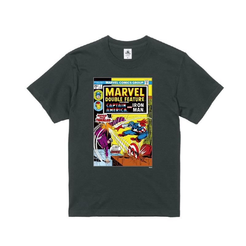 【D-Made】Tシャツ メンズ  MARVEL コミック キャプテンアメリカ アイアンマン