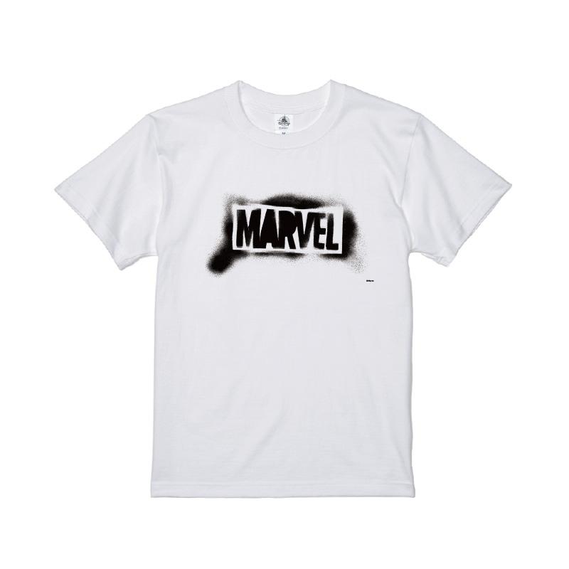 【D-Made】Tシャツ メンズ  MARVEL ロゴ