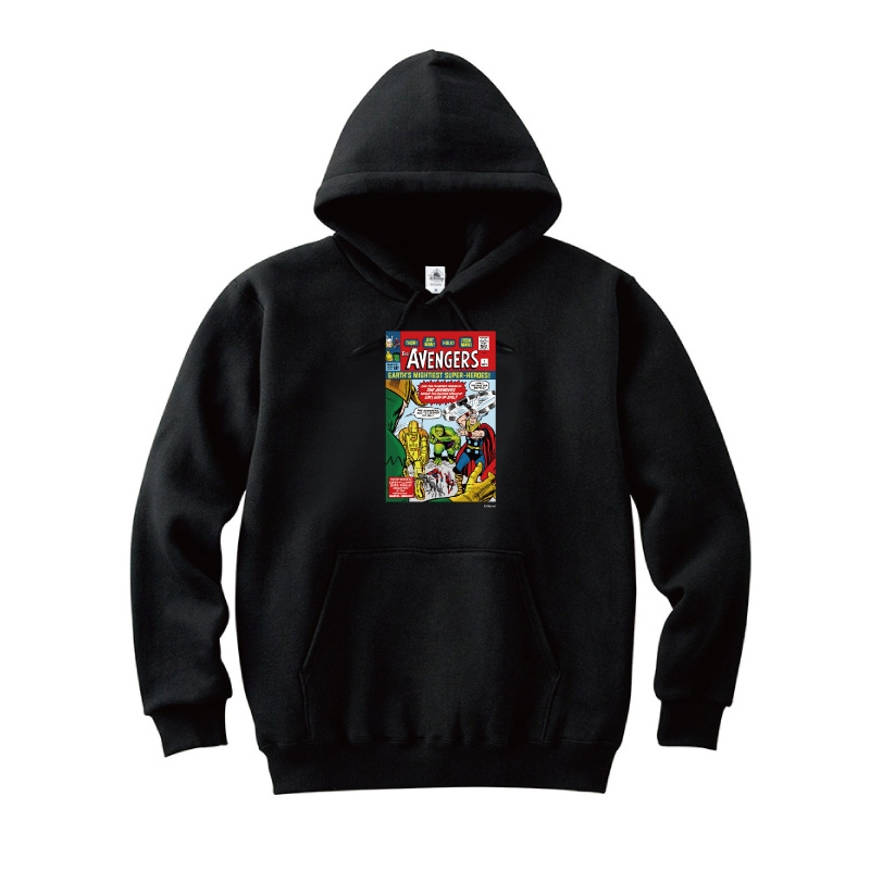 【D-Made】パーカー MARVEL コミック アベンジャーズ