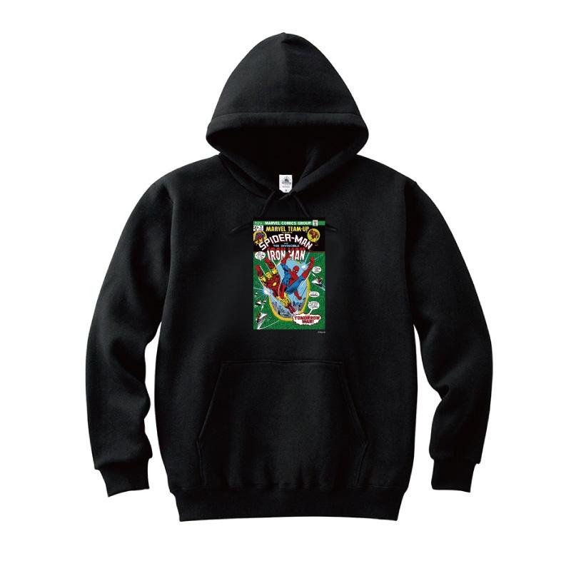 【D-Made】パーカー MARVEL コミック スパイダーマン アイアンマン