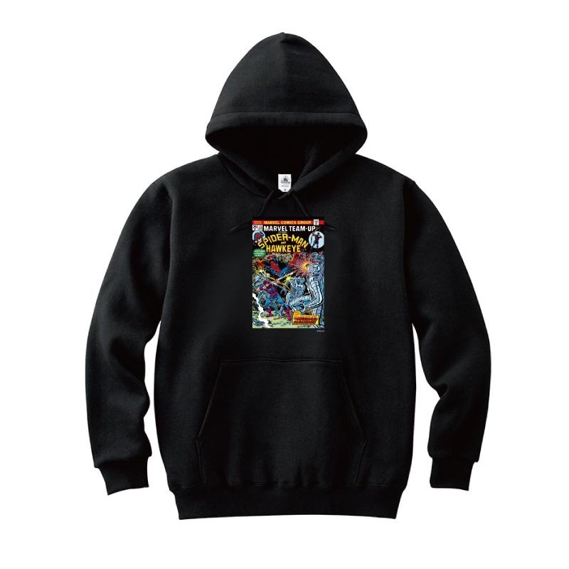 【D-Made】パーカー MARVEL コミック スパイダーマン ホークアイ