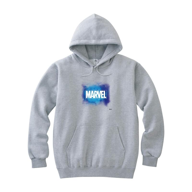 【D-Made】パーカー レディース M MARVEL ロゴ