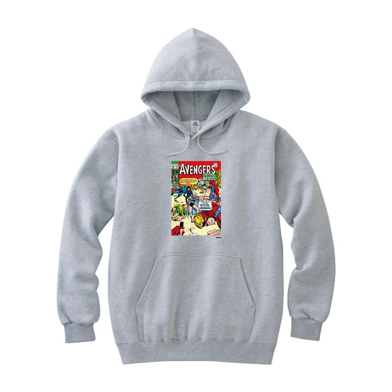 【D-Made】パーカー メンズ  MARVEL コミック アベンジャーズ