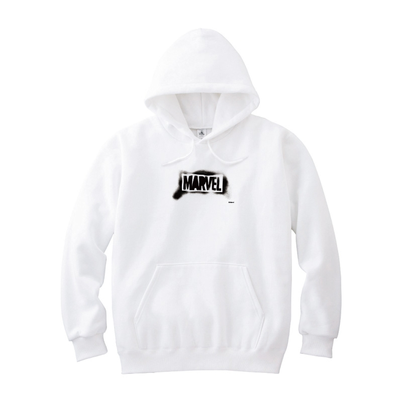 【D-Made】パーカー メンズ  MARVEL ロゴ