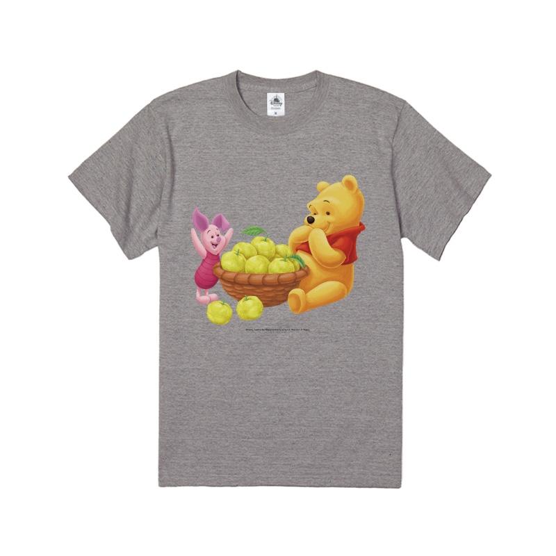 【D-Made】Tシャツ ゆず くまのプーさん プー&ピグレット