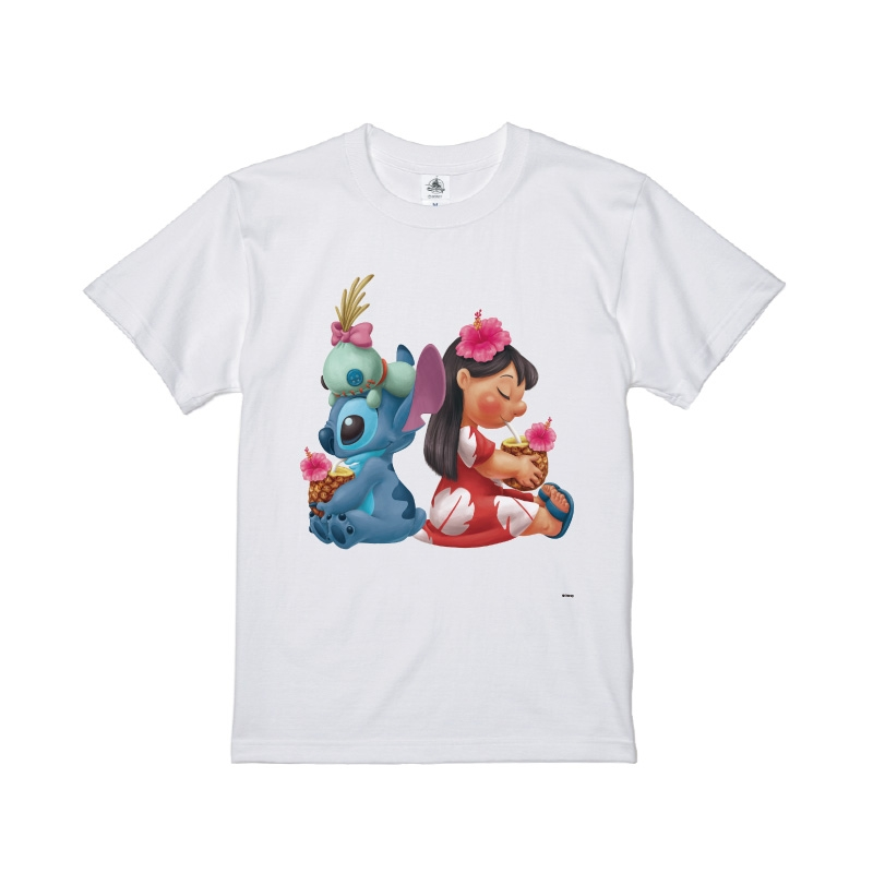 【D-Made】Tシャツ キッズ  リロ&スティッチ&スクランプ