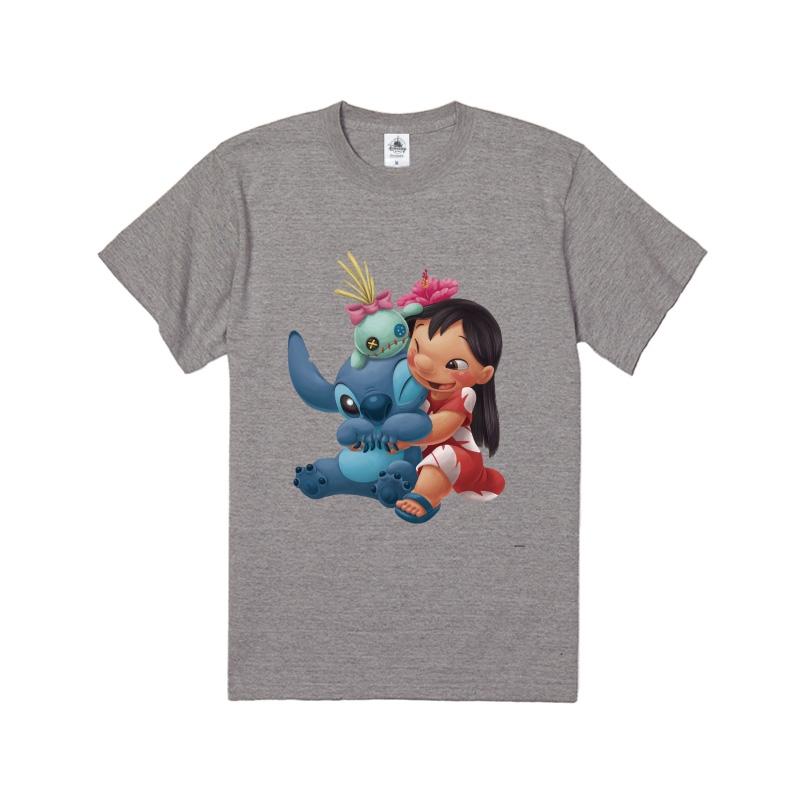 【D-Made】Tシャツ リロ&スティッチ&スクランプ