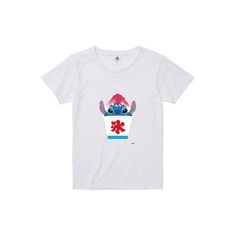 【D-Made】Tシャツ レディース  スティッチ お祭り