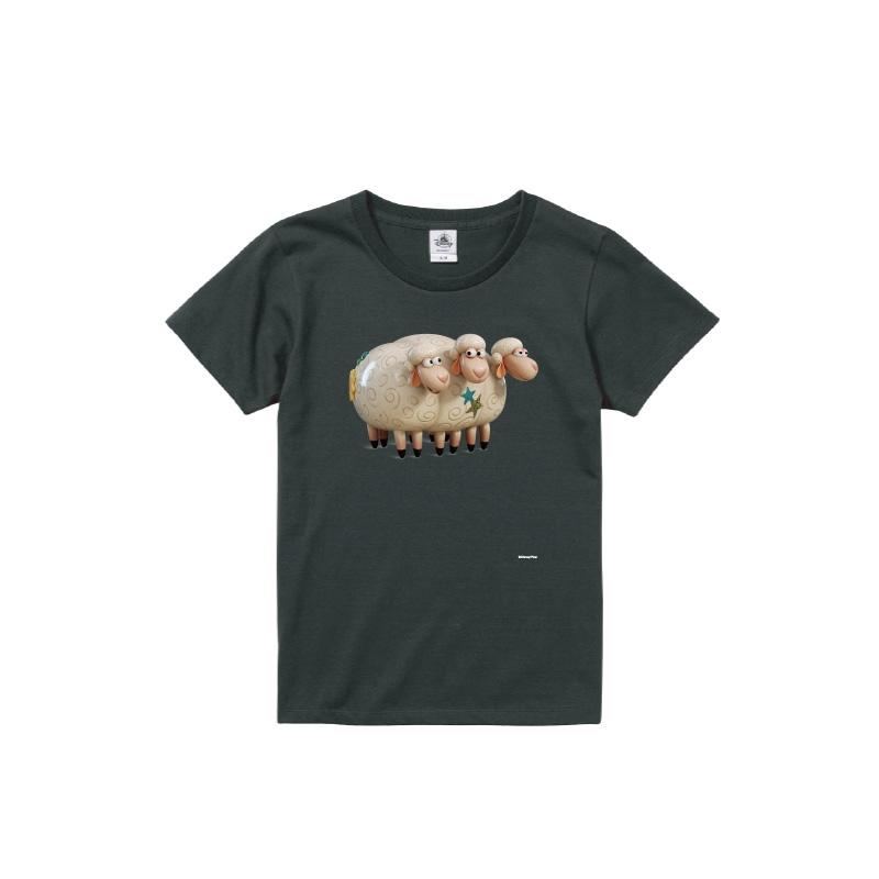 【D-Made】Tシャツ レディース  トイストーリー ビリーゴートグラフ