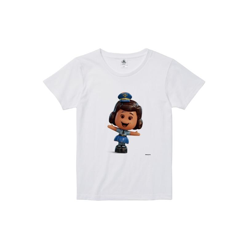 【D-Made】Tシャツ レディース  トイストーリー4 ギグルマクディンプルス