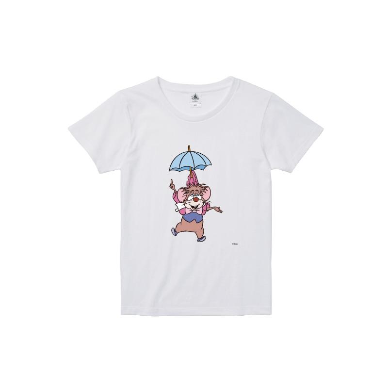 【D-Made】Tシャツ レディース  イヤーオブマウス 不思議の国のアリス ドーマウス