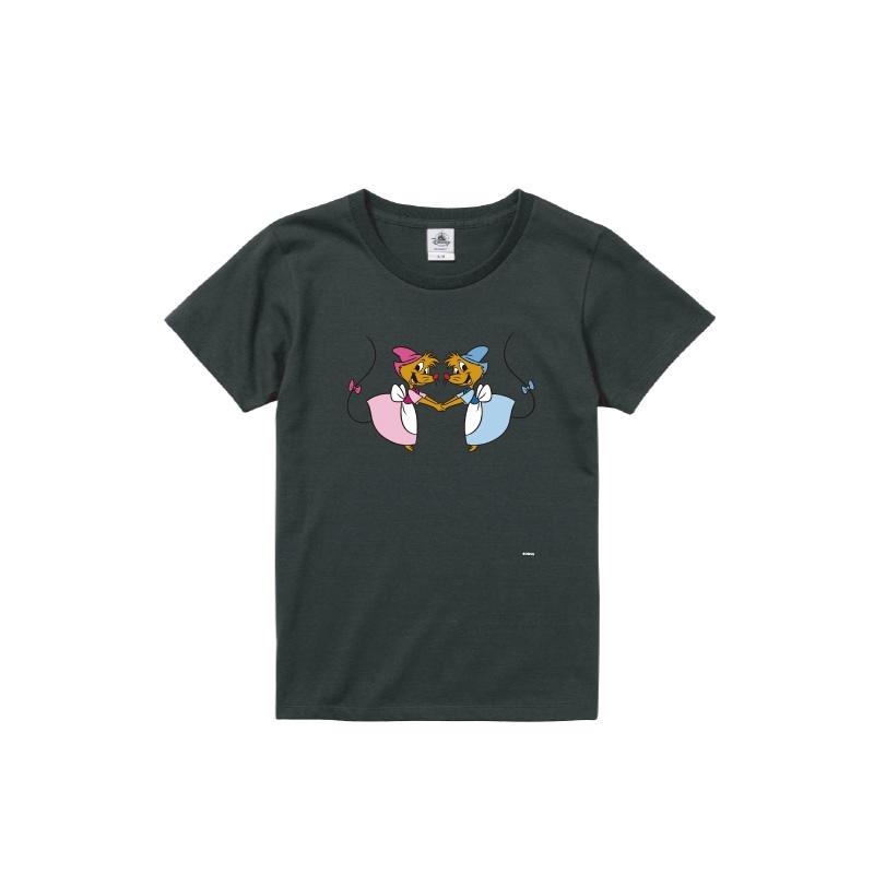 【D-Made】Tシャツ レディース  イヤーオブマウス シンデレラ スージー&パーラ