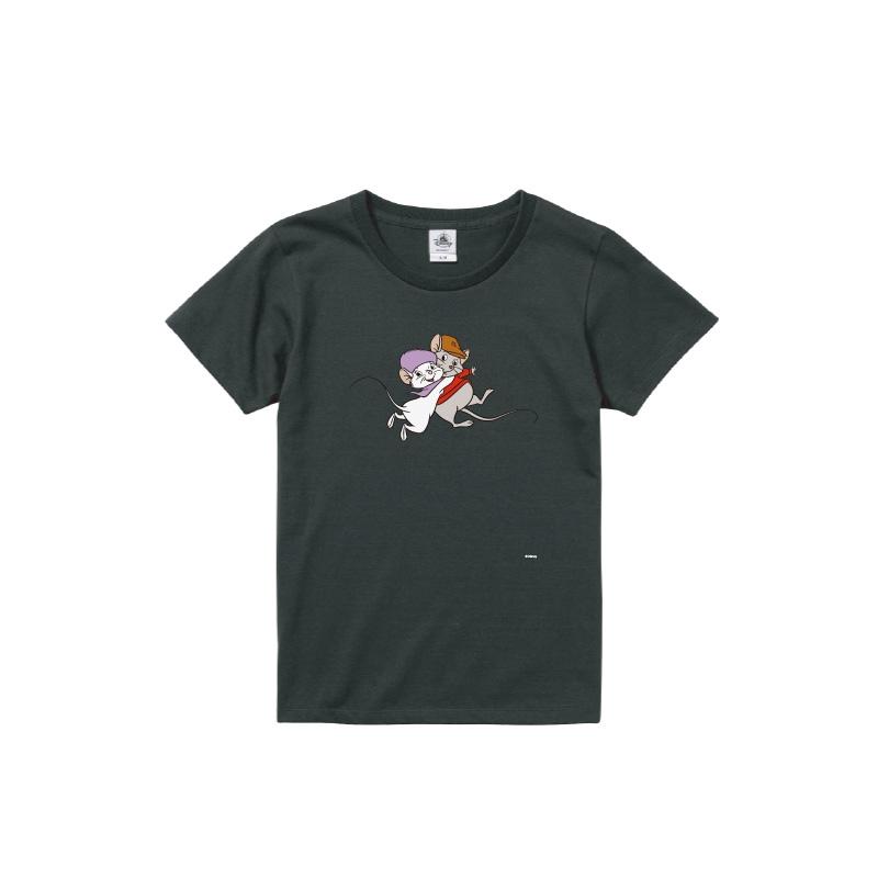 【D-Made】Tシャツ レディース  イヤーオブマウス ビアンカの大冒険 ビアンカ&バーナード