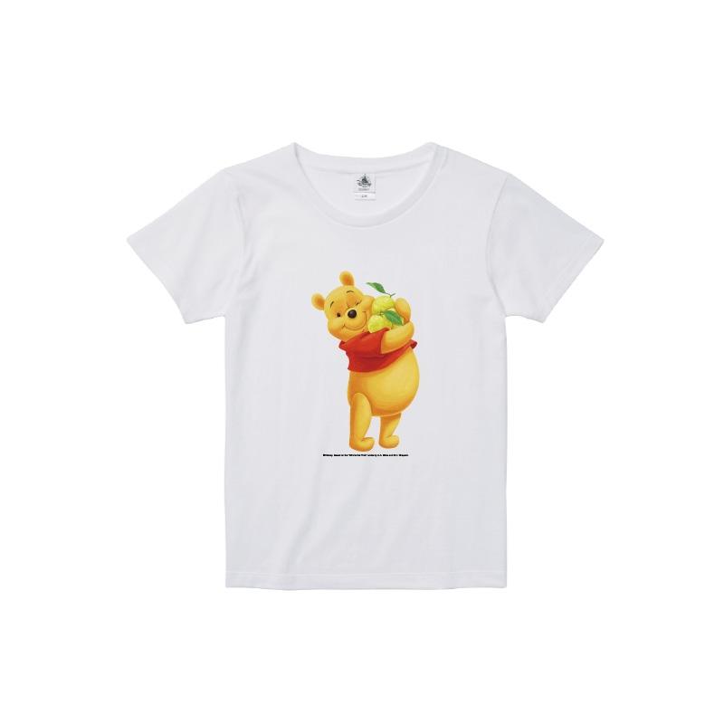 【D-Made】Tシャツ レディース  ゆず くまのプーさん