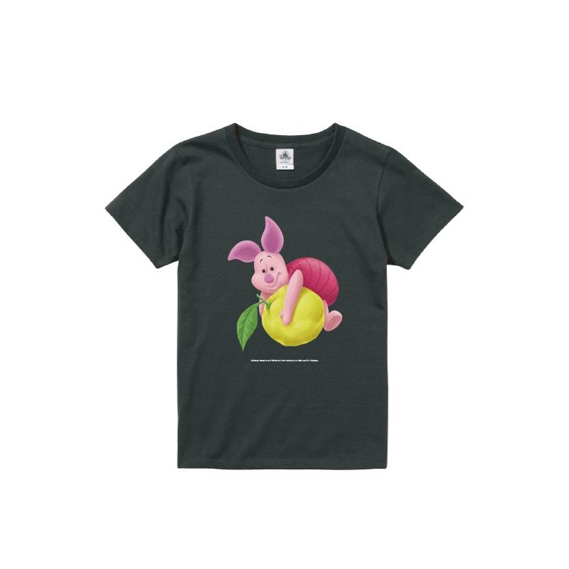 【D-Made】Tシャツ レディース  ゆず くまのプーさん ピグレット