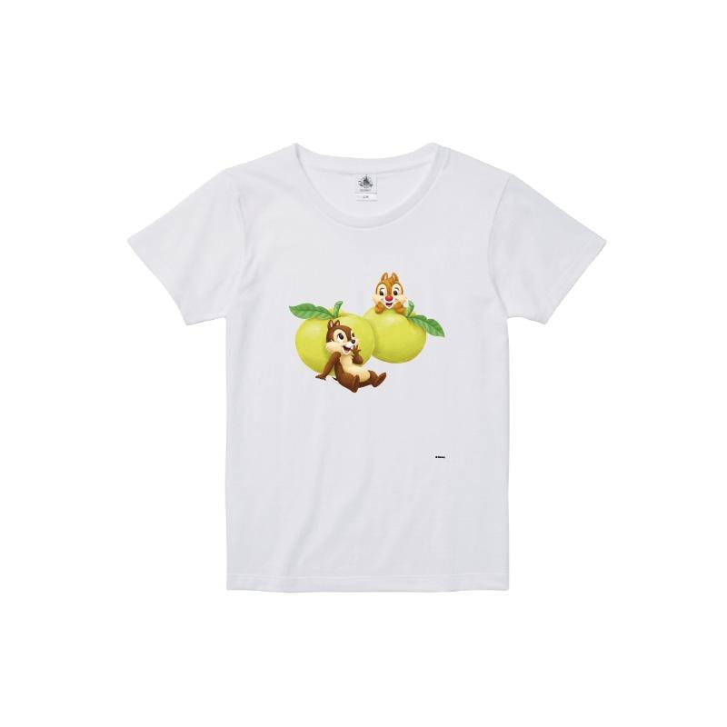 【D-Made】Tシャツ レディース  ゆず チップ&デール