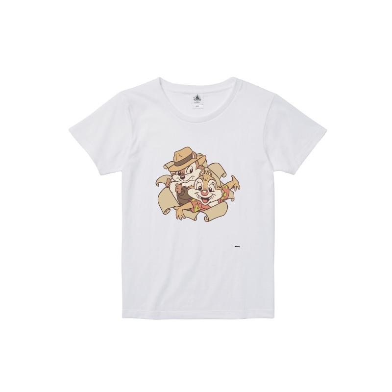 【D-Made】Tシャツ レディース  レスキューレンジャー チップ&デール