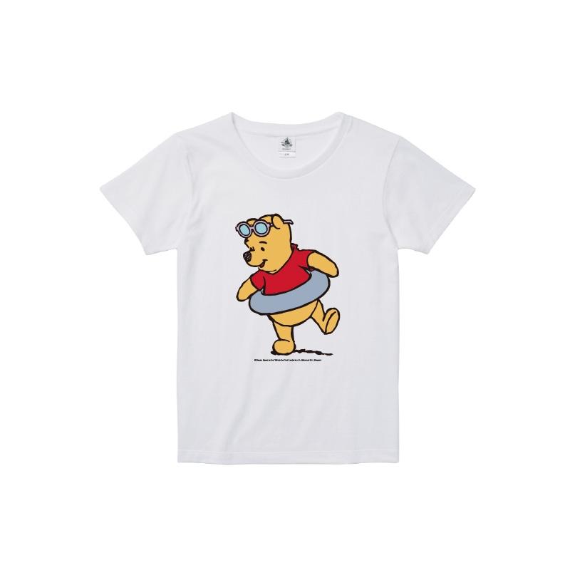 【D-Made】Tシャツ レディース  クールサマー くまのプーさん