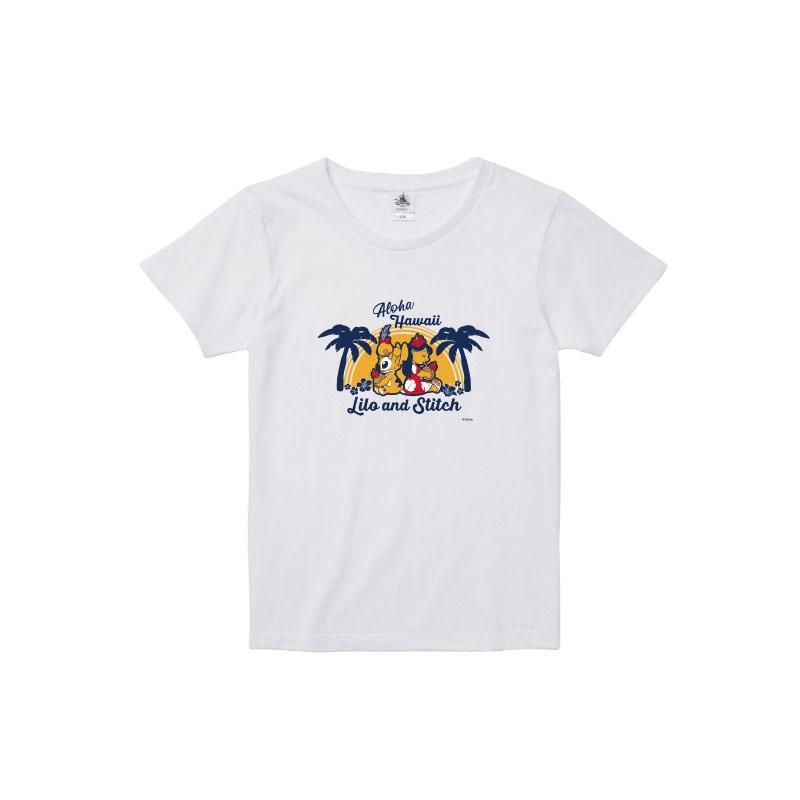 【D-Made】Tシャツ レディース  リロ&スティッチ
