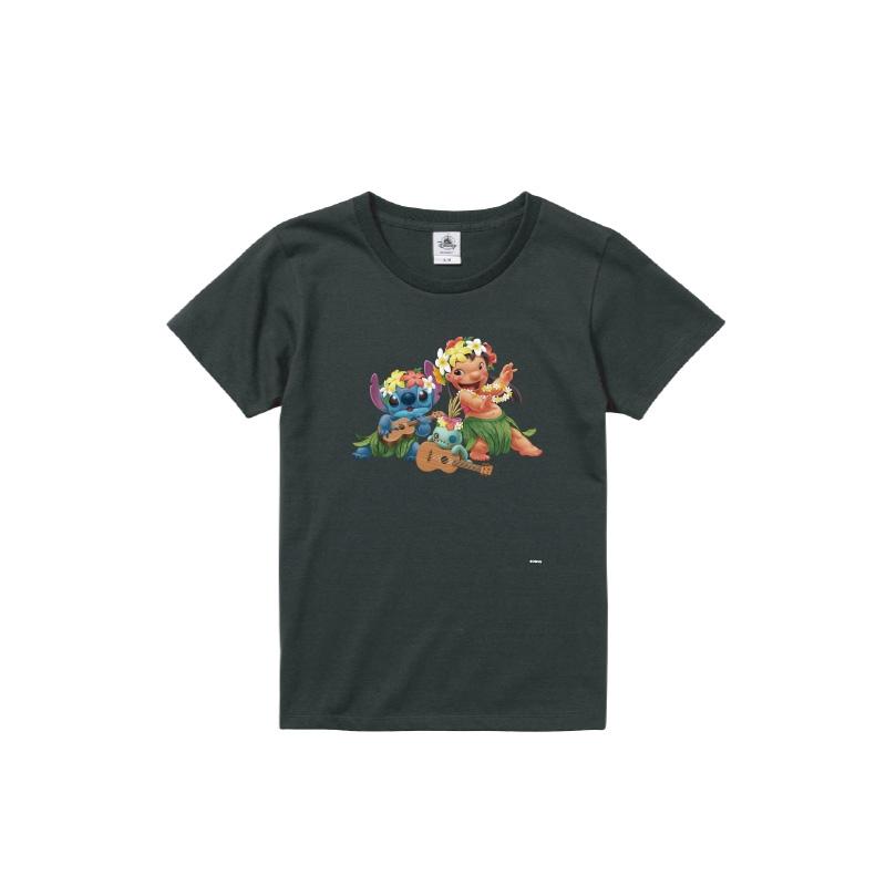 【D-Made】Tシャツ レディース  リロ&スティッチ&スクランプ
