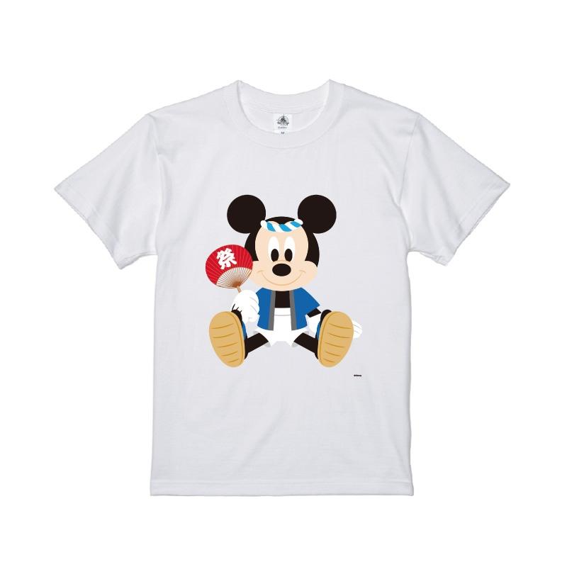 【D-Made】Tシャツ メンズ  ミッキーマウス お祭り